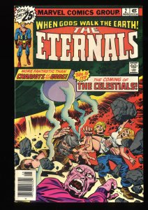 Eternals #2 VF/NM 9.0 1st Ajak Arishem and the Celestials!