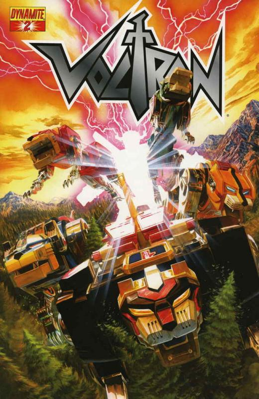 Voltron (Dynamite, Vol. 1) #2A VF/NM; Dynamite | save on shipping - details insi