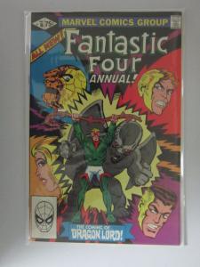 Fantastic Four (1961 1st Series) Annual #16 - 8.0 VF - 1981 - DIR