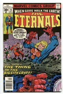 THE ETERNALS #16-1st DROMEDAN-JACK KIRBY-MARVEL-1977