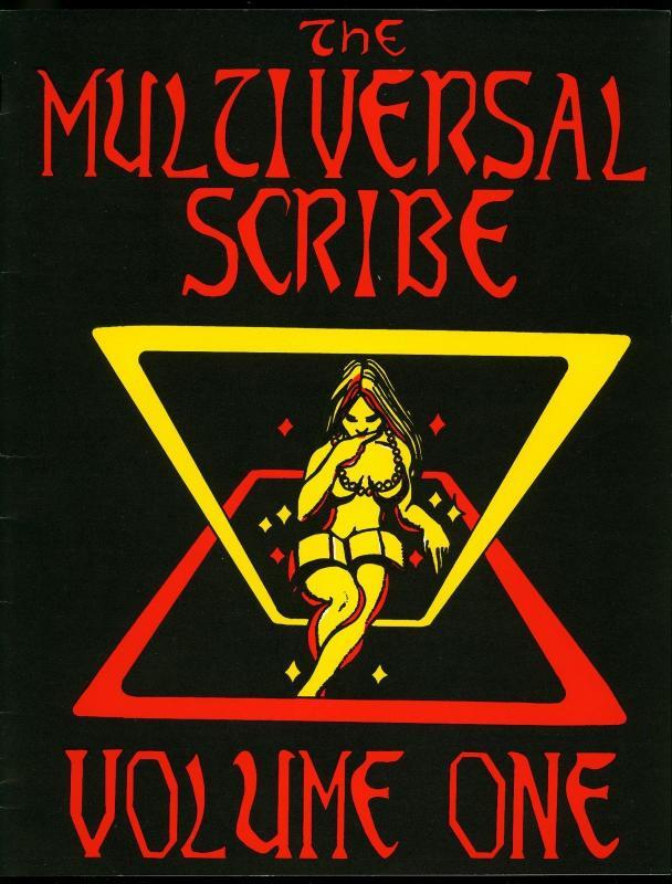 Multiversal Scribe Fanzine #1 1977- Sci-fi Fantasy Michael Tierney 65/250 VF/NM