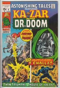 Astonishing Tales #6 (Jun-71) VF/NM High-Grade Black Panther, Ka-Zar