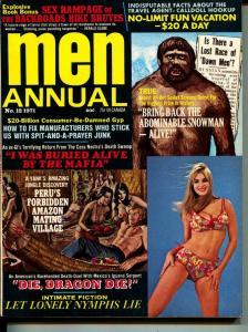 Men Annual-1971-Pussycat-Mafia-Abominable Snowman-Adventure
