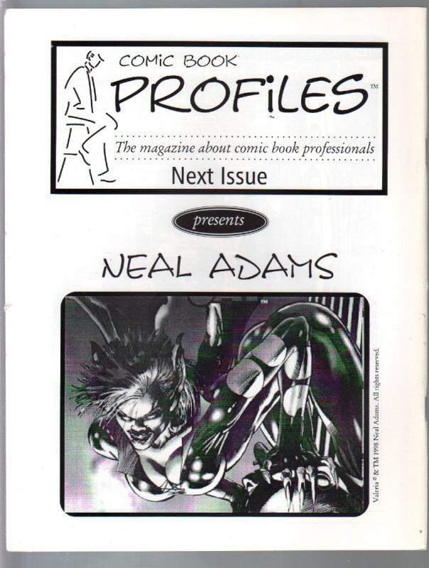 Comic Book Profiles #2 1998-Berni Wrightson issue-VF