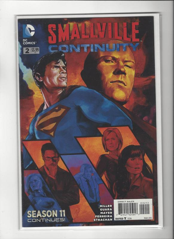 Smallville Continuity #2 DC Comics New 52 NM/M SALE!!!!