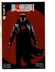 Bloodshot Reborn # 2 NM 1st Print Cover A Valiant Comic Book Jeff Lemire MK3