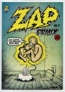 Zap Comix #0 (3rd printing - 35-cent cover price) VF 8.0