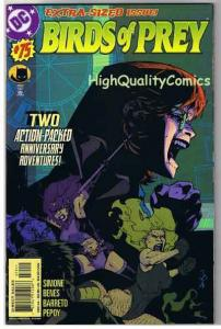 BIRDS of PREY #75, NM+, Black Canary, Huntress, 1999, more in store