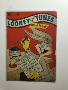 Looney Tunes 124 Good Gd 2.0 Brittle Cover Dell Publishing