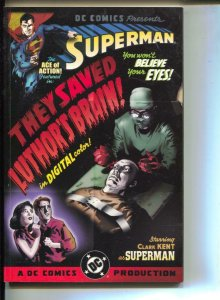 Superman: They Saved Luthor's Brain-Roger Stern-TPB-trade
