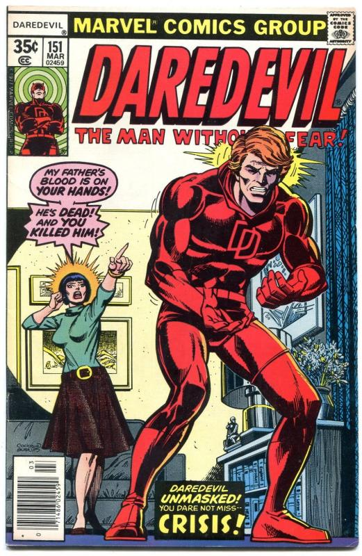 Daredevil #151 1978- Bronze Age Marvel VF