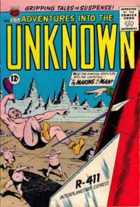 Adventures into the Unknown (1948 series) #145, Fine- (Stock photo)