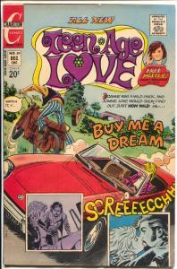 Teen-Age Love #89 1972-Charlton-Jonnie Love-spicy art-motorcycle-VG/FN