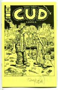 CUD COMICS Ashcan, NM, Signed Terry LaBan, Underground,1995,more promos in store