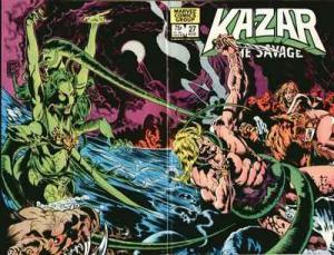Ka-Zar the Savage #27, VF (Stock photo)