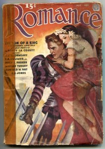 Romance Pulp August 1937- Son of a King- Ransom of the Rose