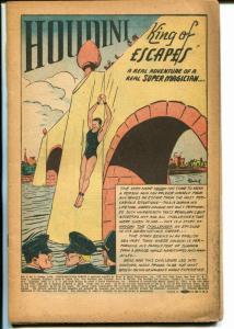 Super Magician Vol 5 #6 1946-Houdini-Red Dragon-P