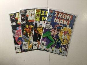 Iron Man 210 213 215 220 Lot Run Set Near Mint Nm Marvel