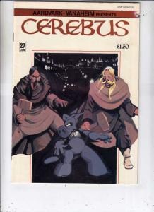 Cerebus #27 (Jun-81) VF/NM High-Grade Cerebus the Aardvark