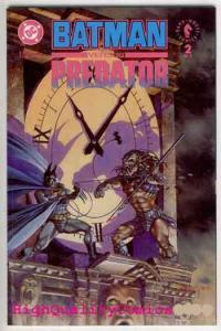 BATMAN vs PREDATOR #2, NM+, Prestige, Kubert, Arthur Suydam, 1991, more in store