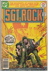Sgt. Rock #303 (Apr-77) FN+ Mid-High-Grade Sgt. Rock, Easy Co.