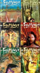 FAULT LINES (1997 VERTIGO) 1-6  Lee Marrs & Bill Koeb COMICS BOOK