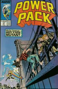 Power Pack (1984 series) #37, VF (Stock photo)