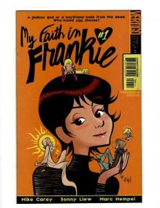 10 Comics My Faith in Frankie # 1 2 3 4 + 3X3 Eyes # 1 2 3 (1) 4 5 CE5