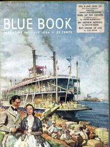 BLUE BOOK PULP-JULY-1946-G/VG-COVER ART BY STOOPS-NELSON BOND -BEDFORD- G/VG