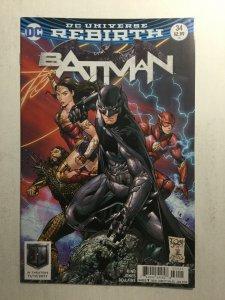 Batman 34 Justice League Variant Nm Near Mint DC Comics