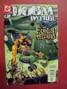 DOOM PATROL #2  NM (9.2)  OR BETTER DC COMICS