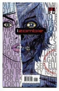 I, ZOMBIE #1 Vertigo comic book 2010