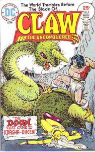 Claw the Unconquered #2 (Aug-75) NM- High-Grade Claw the Unconquered