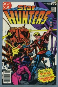 STAR HUNTERS #2, NM-, Sci-Fi, Buckler, DC 1977 1978  more DC in store