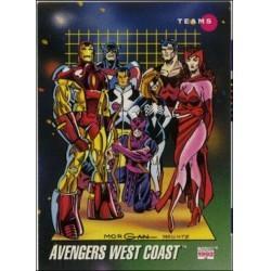 1992 Marvel Universe Series 3 AVENGERS WEST COAST #176