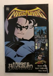 NIGHT WING A KNIGHT IN BLUDHAVEN TPB SOFT COVER 1ST PRINT NM OR BETTER