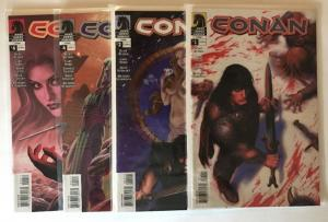 Conan 1-7 Near Mint Lot Set Run Busiek Nord Dark Horse