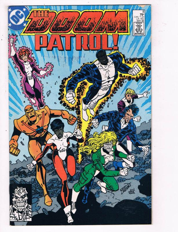 The Doom Patrol 8 Vf Dc Comics Comic Book May 1988 De23 Hipcomic