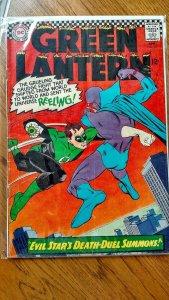 GREEN LANTERN #44 (DC, 1966) VG/FN