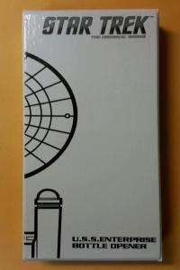 STAR TREK Enterprise BOTTLE OPENER, New, Sci-fi, Sealed in White box, Unopened