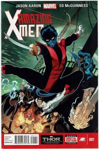 Amazing X-Men #1 (2014 v2) Ed McGuinness Nightcrawler NM