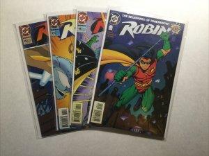 Robin 0 11 13 15 Lot Run Set Near Mint- Nm- 9.2 Dc Comics