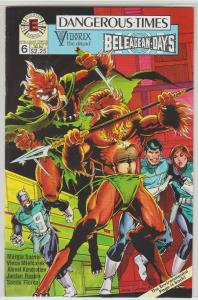 $.99 CENT SALE! - DANGEROUS TIMES #6 EVOLUTION COMICS -  N/M - BAGGED & BOARDED