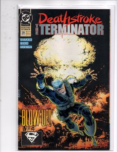 DC Comics Deathstroke the Terminator #20 Mike Zeck Marv Wolfman Checkmate