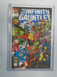 Infinity Gauntlet #3 8.5 VF+ (1991 1st Series)