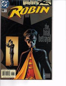 DC Comics (1993) Robin #98 Bruce Wayne: Murderer? Spoiler Batgirl Chuck Dixon