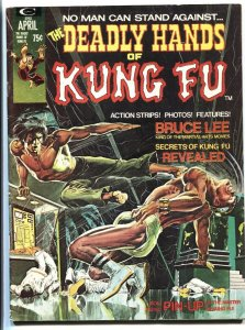 The Deadly Hands of Kung Fu #1 1974- Bruce Lee- Neal Adams  Jim Starlin VG/FN