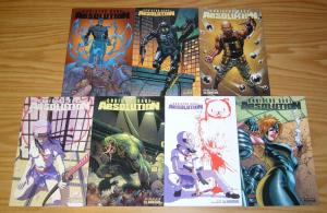 Absolution #0 & 1-6 VF/NM complete series - crime files variants - christos gage