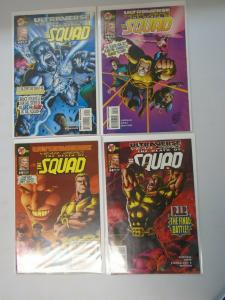 Ultraverse Year Zero The Death of the Squad set #1-4 8.0 VF (1995)