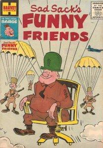 Sad Sack's Funny Friends #1 GD; Harvey   low grade comic - save on shipping - de